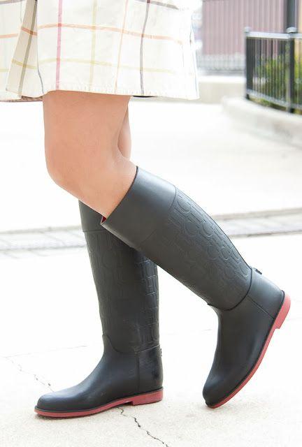 Carolina Herrera rain boots Botas De Lluvia 6e8d17cb3dc