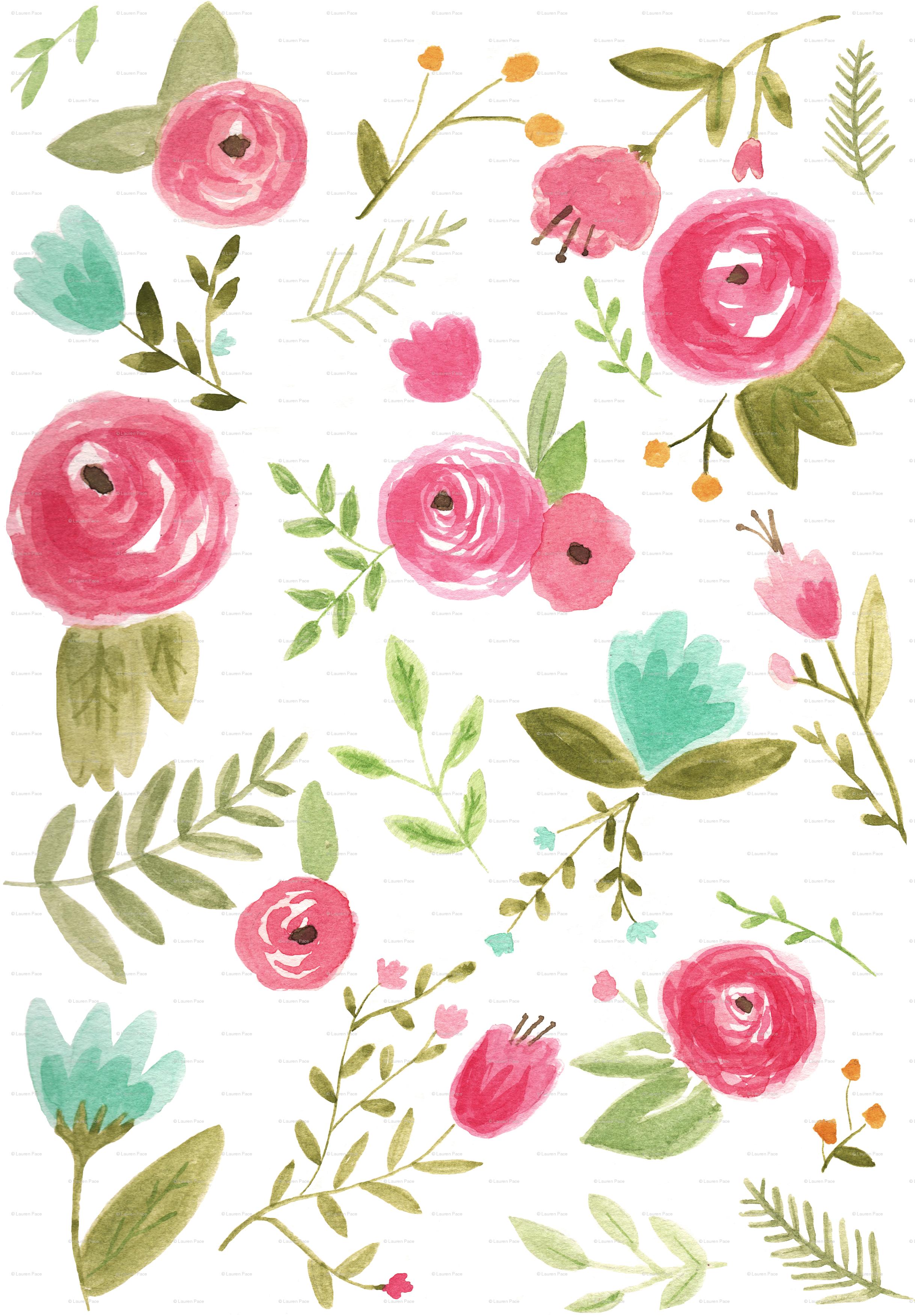Image result for watercolour floral desktop background