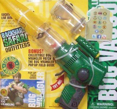 Animals And Nature 31744: New Backyard Safari Bug Vacuum With Lazer Light  Pop Up Field