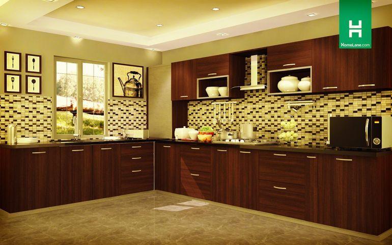 Robin Woodtone Lshaped Kitchen  Modular Kitchen  Pinterest Gorgeous How To Design A Modular Kitchen Decorating Design