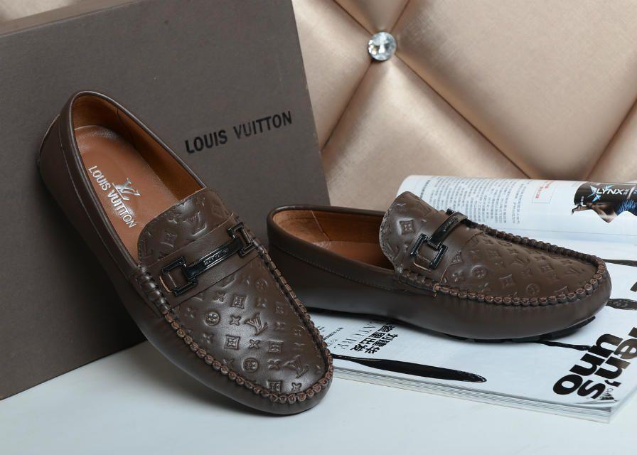 Louis Vuitton Casual Shoes Men Lv3457d Loafers