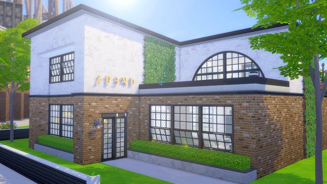 Turning Abandoned City Loft Into Photo Studio The Sims 4 Fixer Upper Photo Studio Sims 4 Fixer Upper