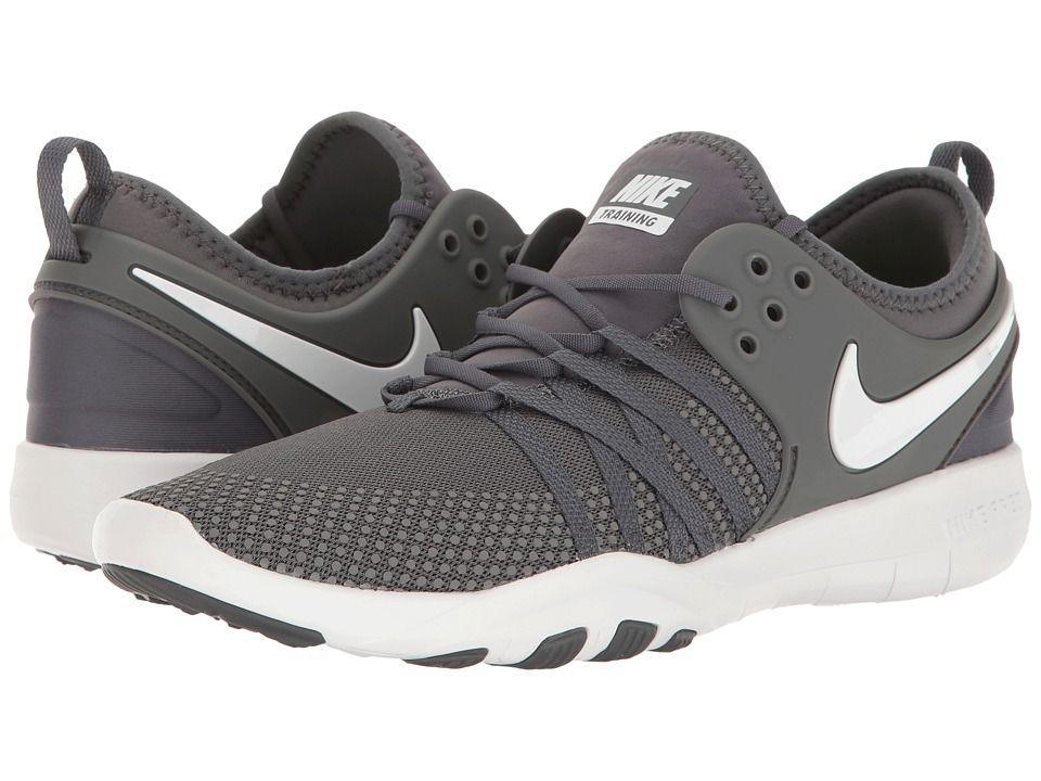 Nike Free Tr 7 Women S Cross Training Shoes Dark Grey White Nike Free Cross Training Shoes Nike