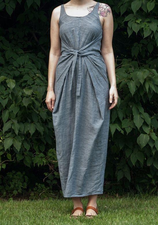 Chambray Kielo Wrap Dress By Sara Berkes User Projects 3 Sewing