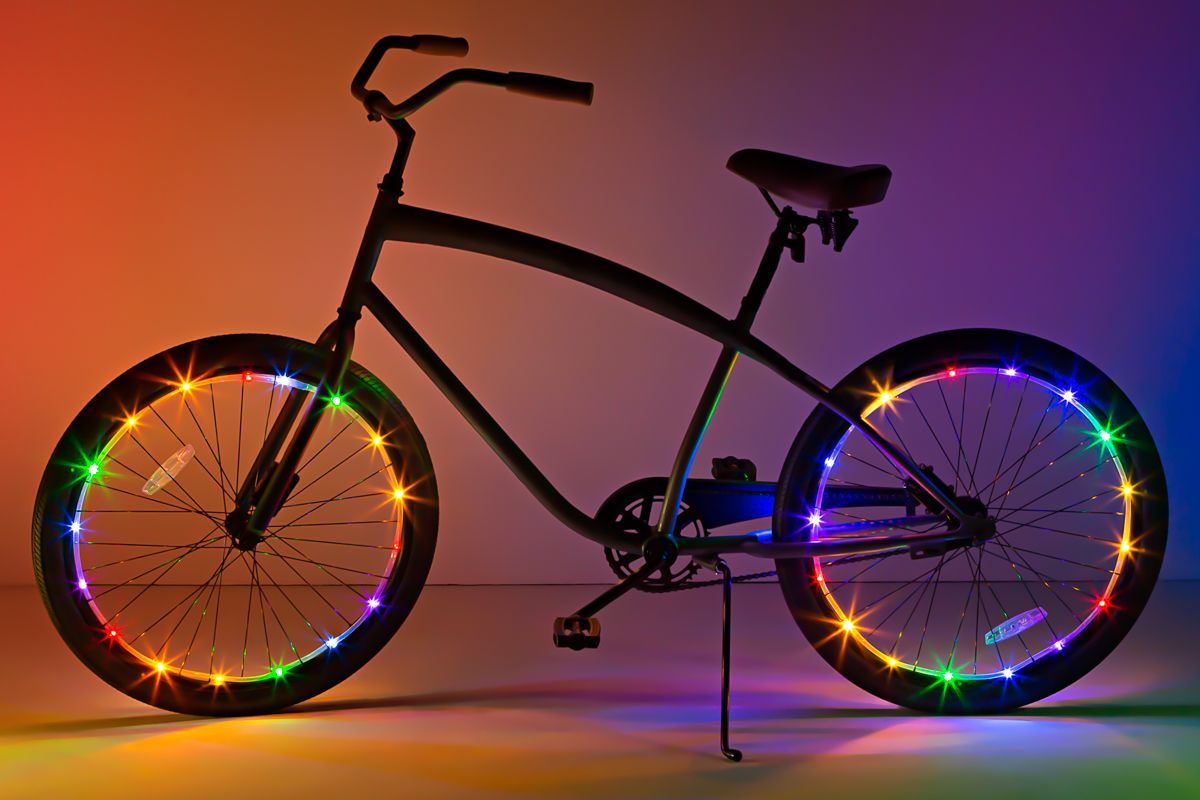 Wheel Brightz Rainbow Bicycle Lights
