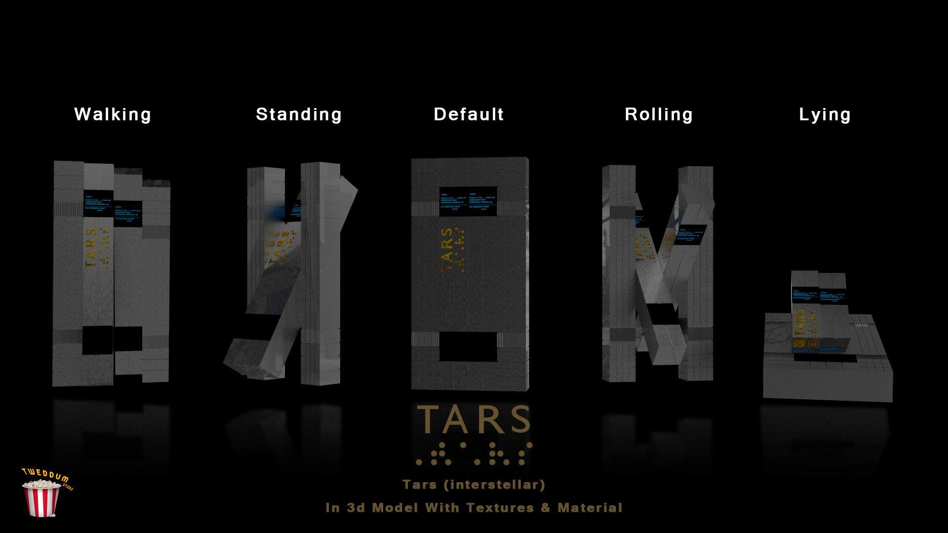Tars interstellar dimensions