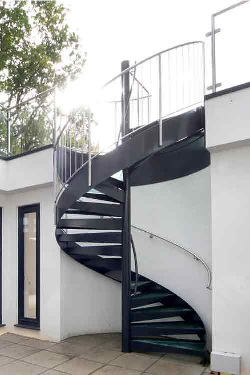 Best Image Result For External Spiral Staircase Escaleras 400 x 300
