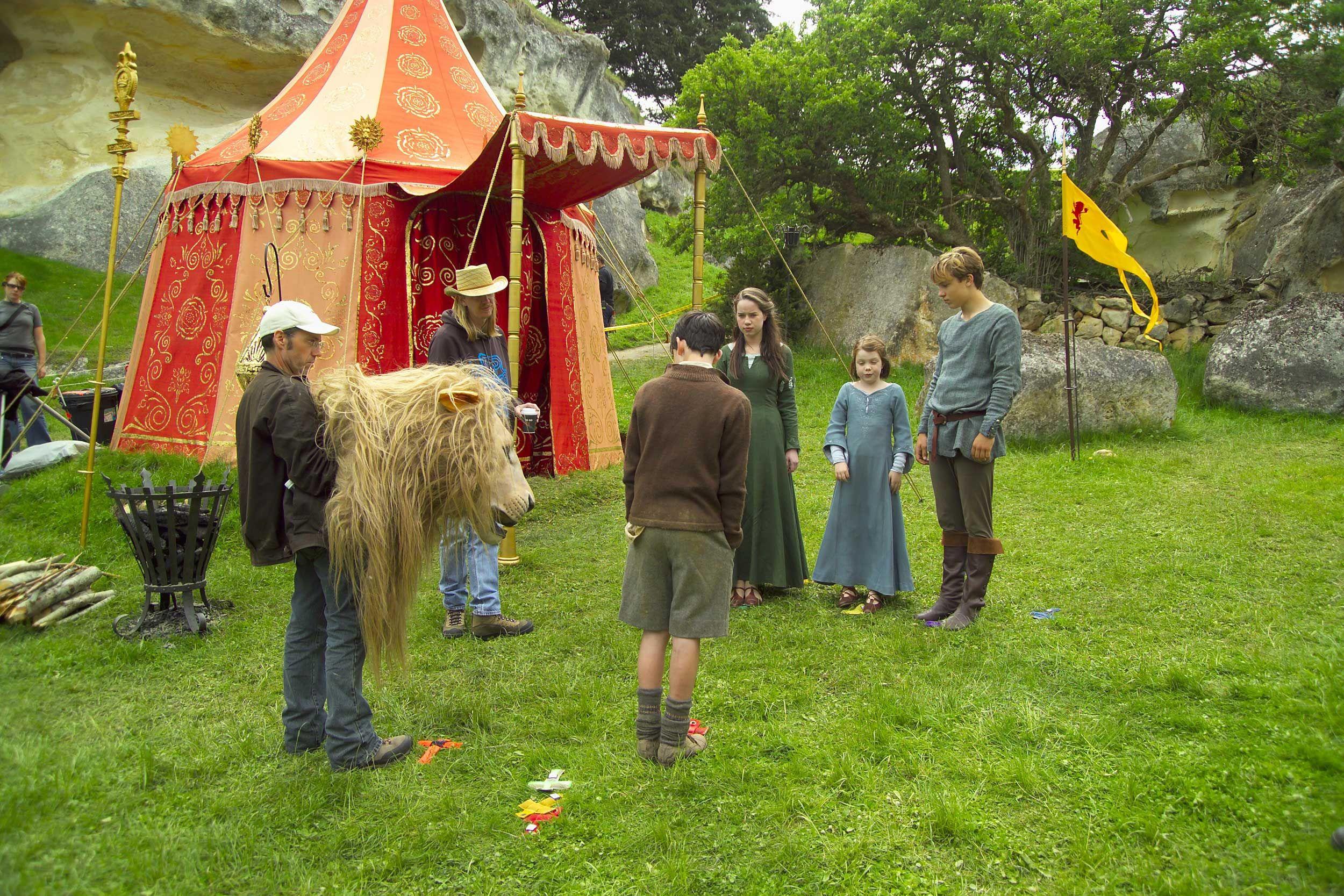 Production Photos NarniaWeb Narnia movies, Narnia