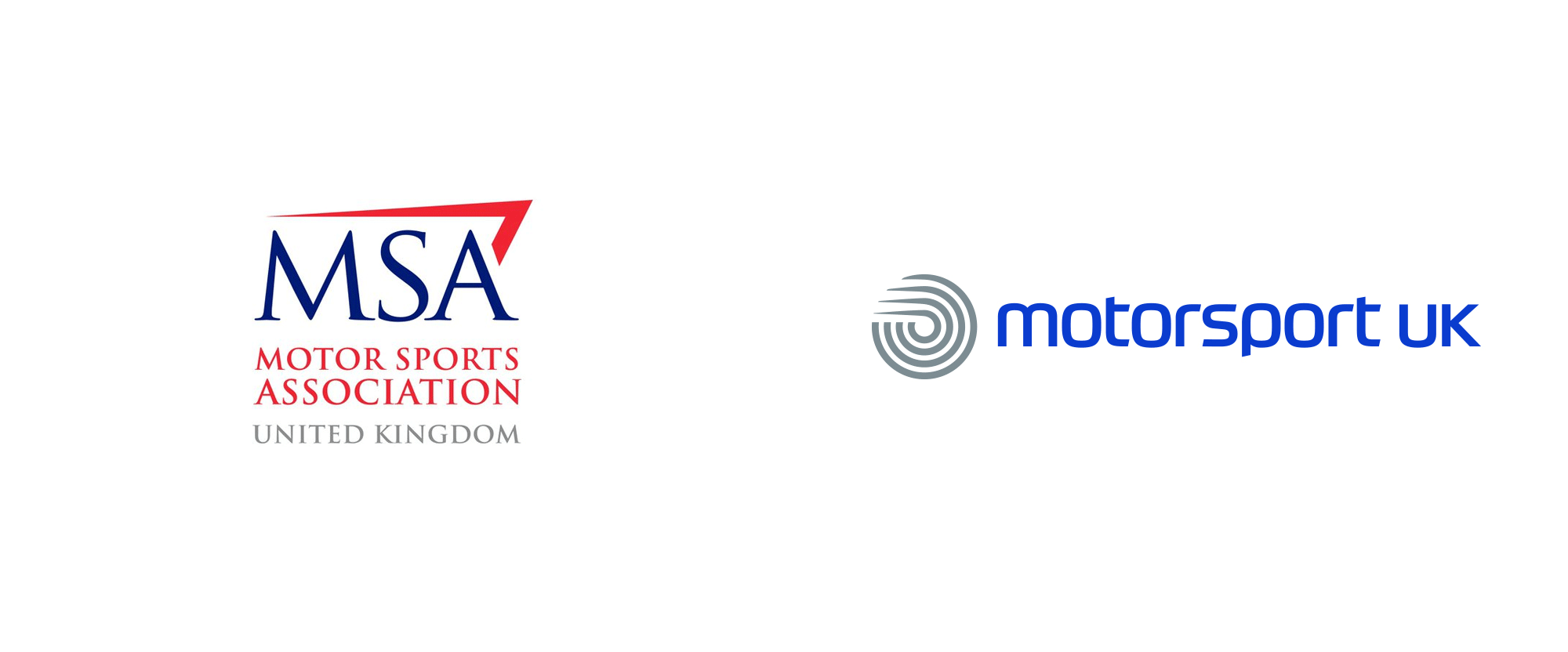 New Logo And Identity For Motorsport Uk By Rbl Brands Identity Logo Identity Logos