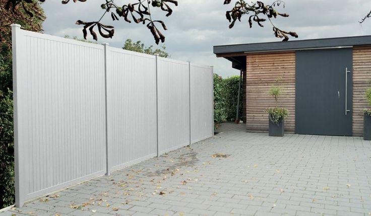 Aluminium Sichtschutz Ameland Zaun Pinterest