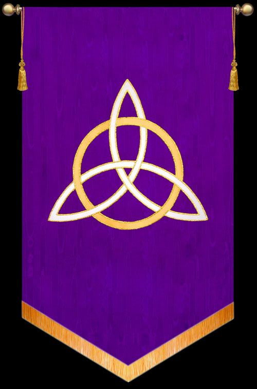 Symbol Trinity Christian Banners For Praise And Worship Church