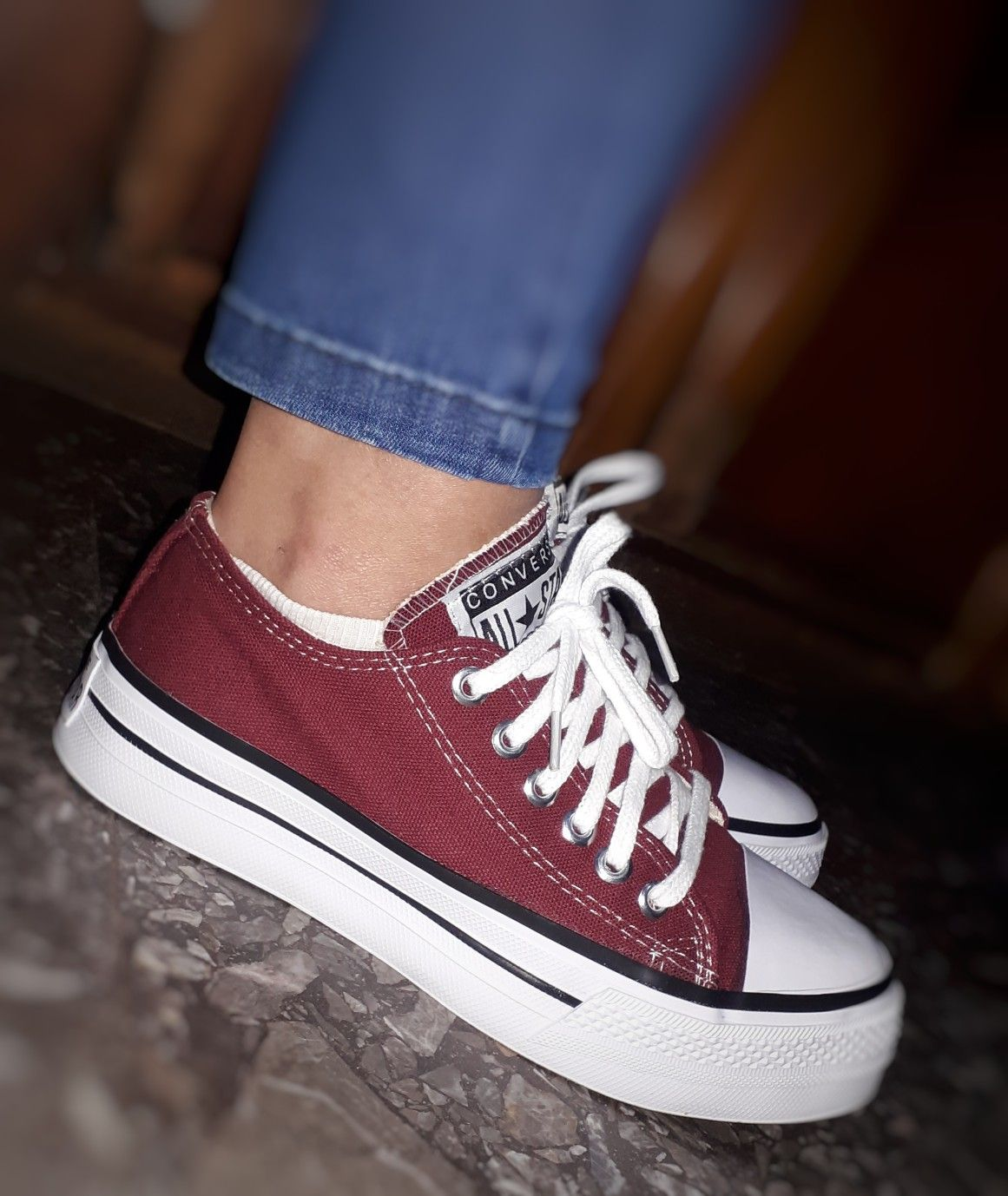 converse all star mujer amarillas