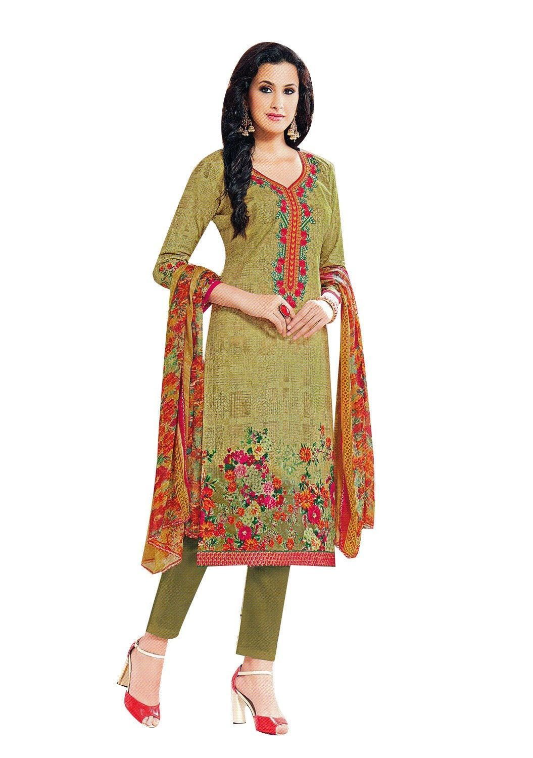 f9e06dd628 Readymade Cotton Embroidered Salwar Kameez Gorgeous Printed Indian Dress  Ready to wear Salwar Suit #LowestPrice #ShopNow #NewStuff #FreeShipping  #SalwarSuit ...