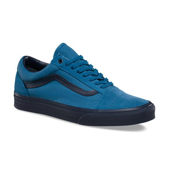C&D Old Skool Shoes | Blue | Vans | Vans schoenen heren ...
