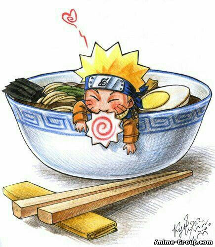 Cute Naruto Never Ending Love For Ramen With Images