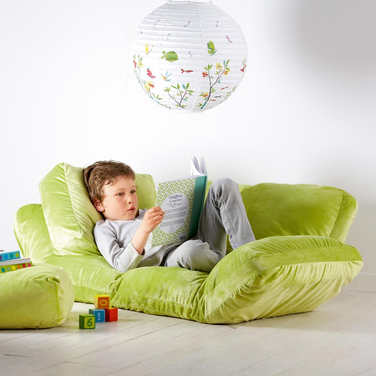 Canap multi positions anis oxybul pour enfant de 2 ans 12 ans oxybul veil et jeux - Canape pour bebe ...