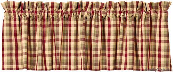 India Home Fashions Apple Cider Curtain Valances