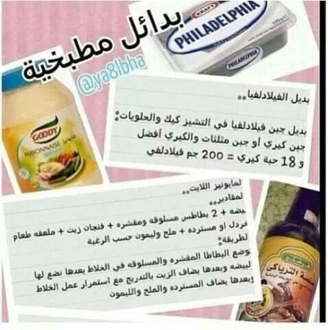 بدائل مطبخية Algerian Recipes My Recipes Arabic Food