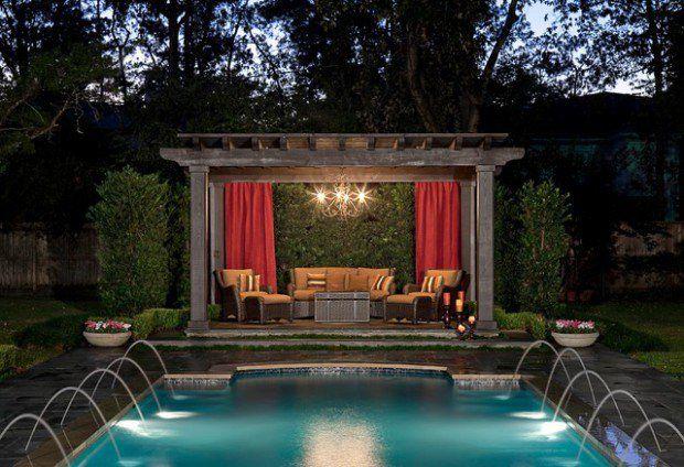 Backyard Ideas With Pool And Gazebo