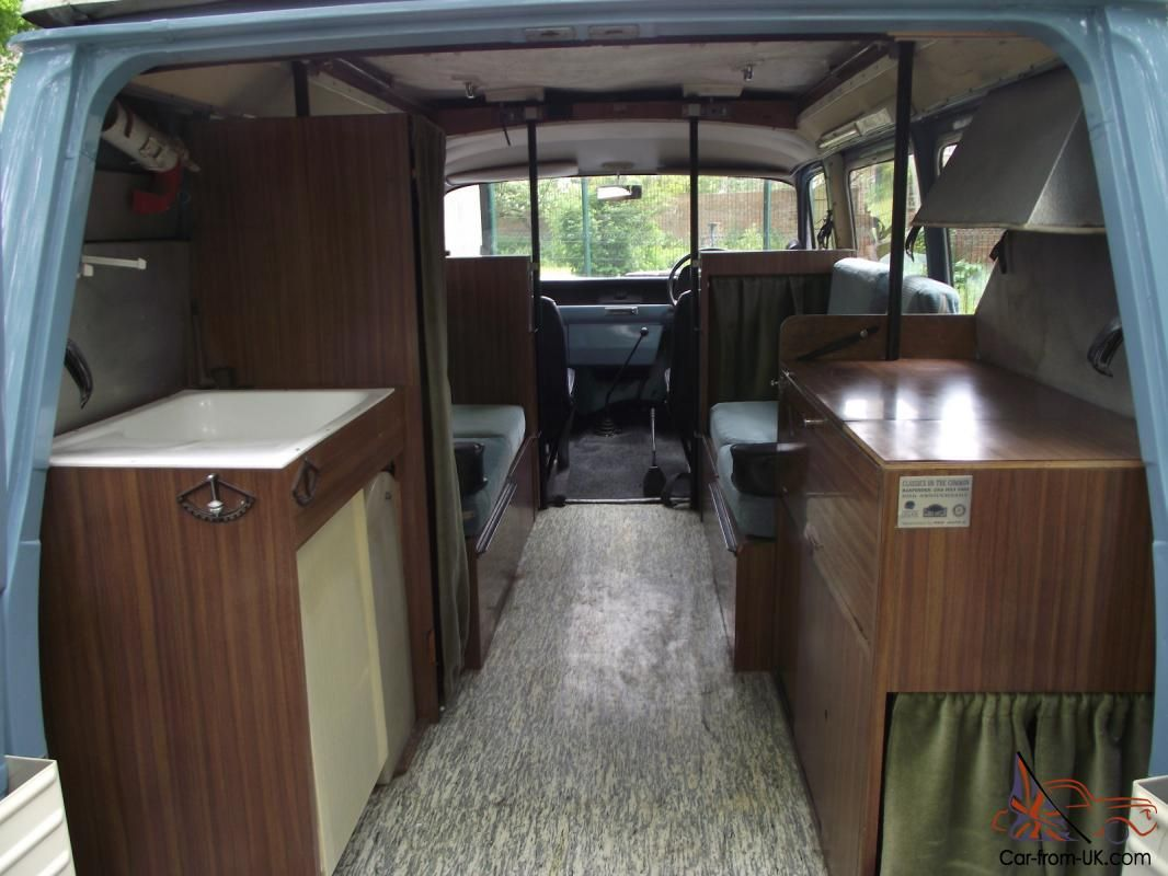 hello welcome to my auction for my rare 1968 ford bedford transit 4 birth camper ive spent over. Black Bedroom Furniture Sets. Home Design Ideas