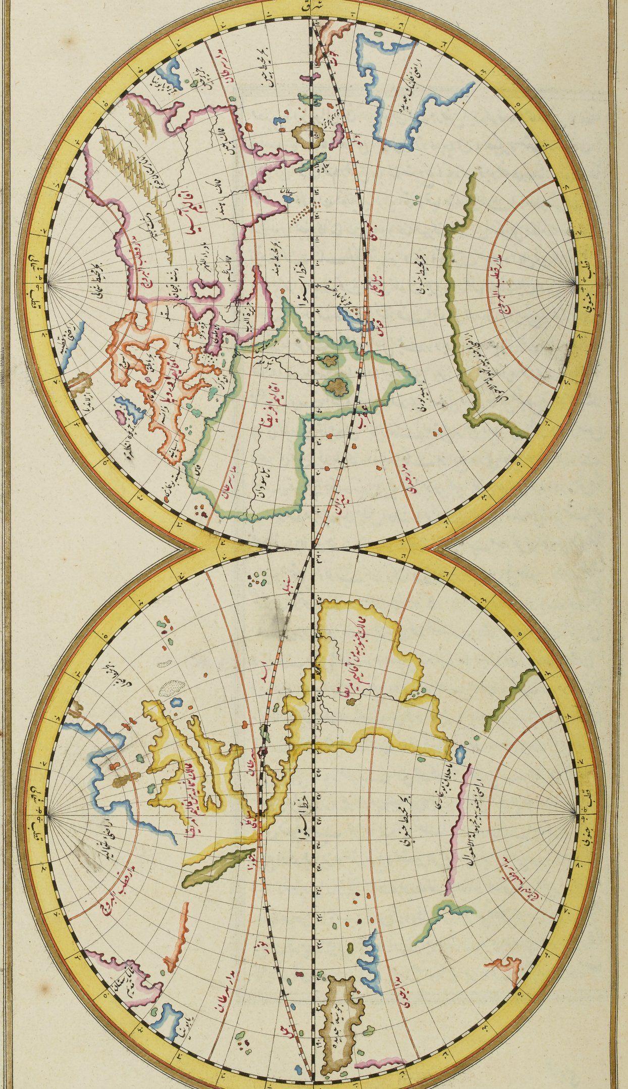 Katib elebi 1729 maps pinterest cartography islamic art and sanat gumiabroncs Image collections