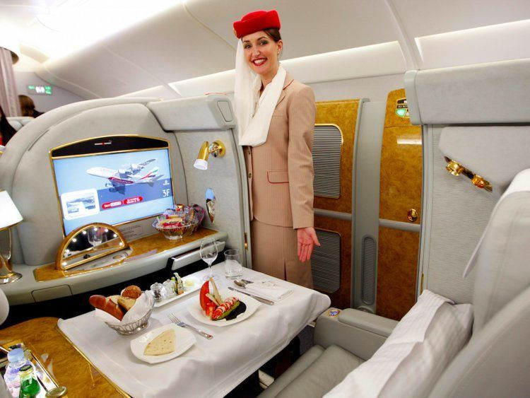 What It's Like to Fly First Class on Emirates Airlines