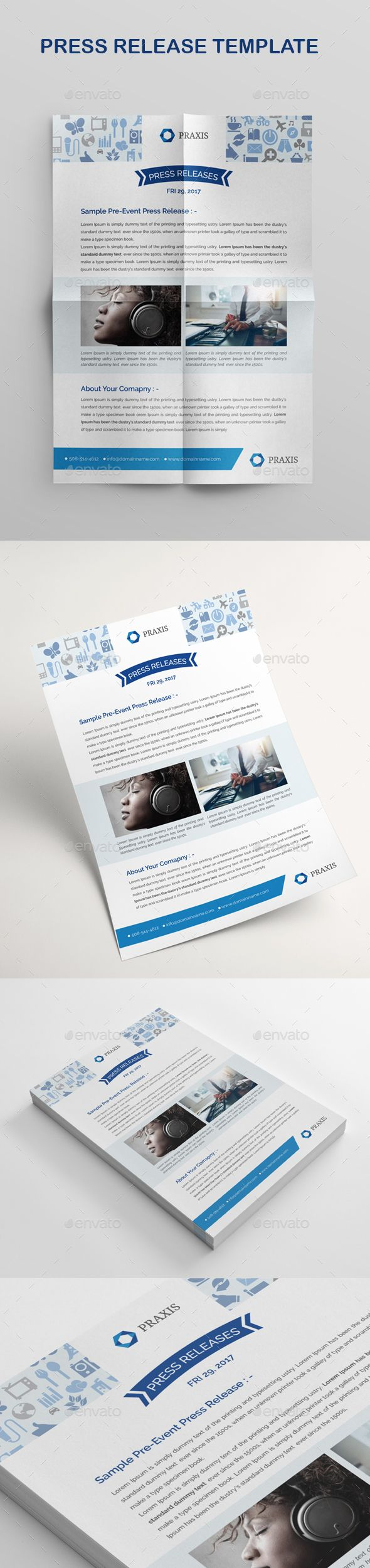 Press Release Evergreen  Perene  Press Release Email Templates