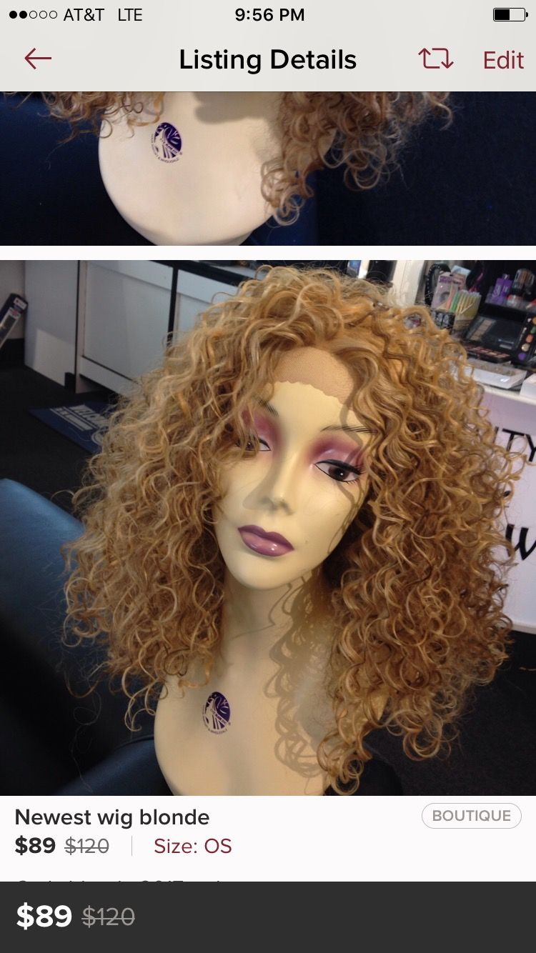Wig Hair Extensions Blonde Ombr Black Red Curly Silky Straight