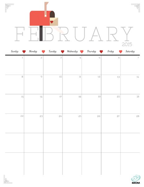20 Free Printable Calendars to Ring in the New Year PRINTABLES