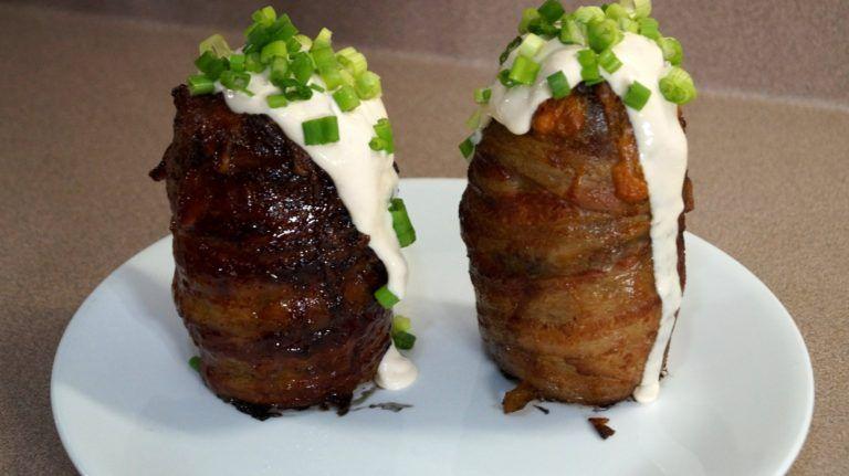 BBQ Volcano Potato Recipe – 07Recipes