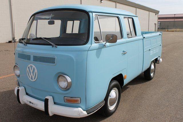 1969 VW Transporter, Double Cab Pickup
