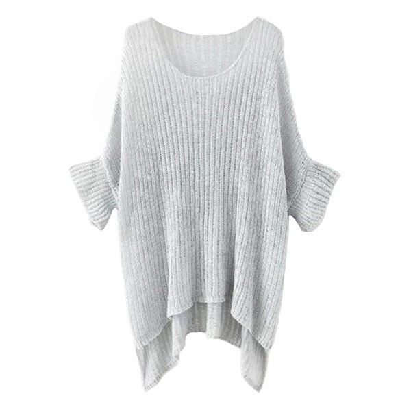 Karen Oversize Jumper ($25) ❤ liked on Polyvore featuring tops ...