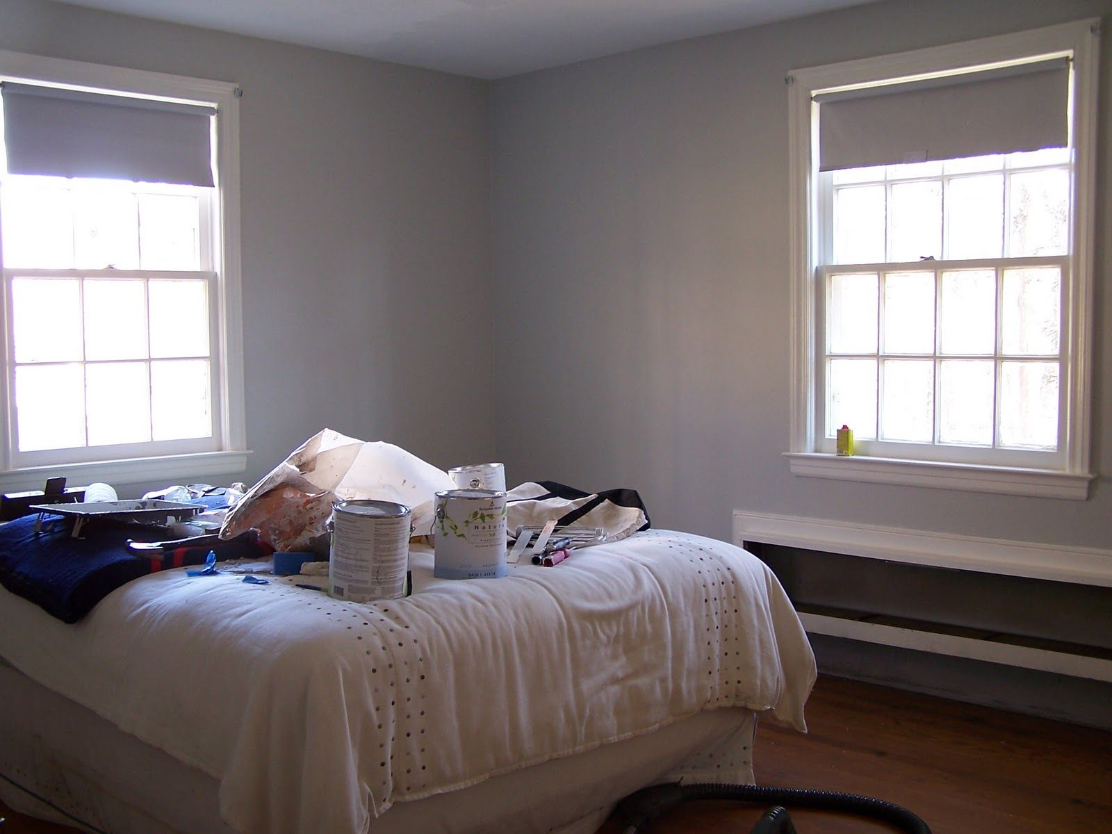 owl grey paint from benjamin moore for the home pinterest. Black Bedroom Furniture Sets. Home Design Ideas