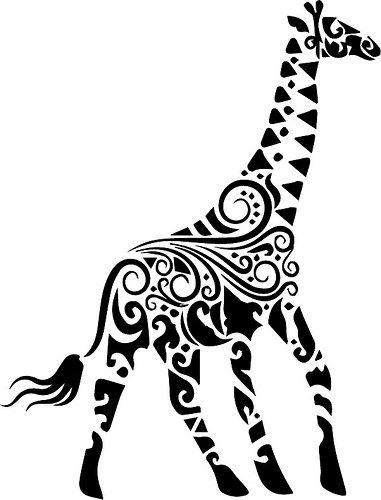 Giraffe Giraffe Tattoos Cricut Animals Giraffe