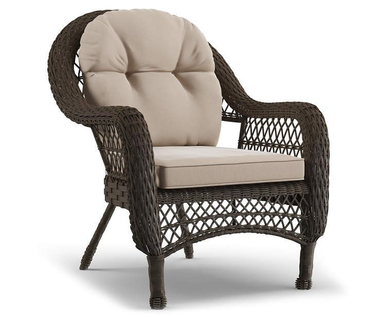 Groovy Wilson Fisher Westwood All Weather Wicker Cushioned Patio Pdpeps Interior Chair Design Pdpepsorg
