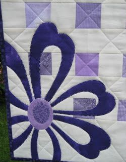 Anne-Grethes quiltblog: Lilla / Lilac