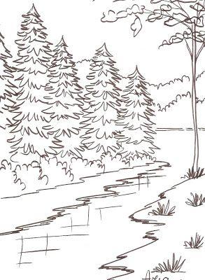 Ariane Cerveira Riscos Do Dvd Paisagens 1 Desenhos Paisagens