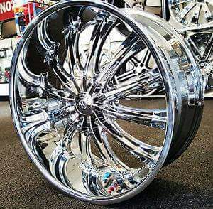 Mount And Balance Tires >> 4 Brand New 22 Rims And Tires Package Already Mount And
