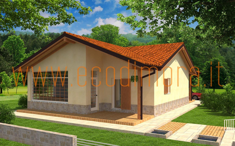 Interni Case Prefabbricate In Legno casa prefabbricata in legno easy 108 (con immagini) | case