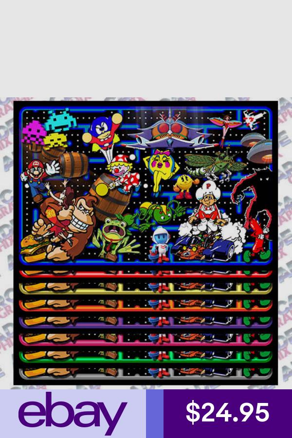 Multicade Maze Series Arcade Cabinet Game Graphic Artwork Kickplate Graphic Artwork Artwork Graphic