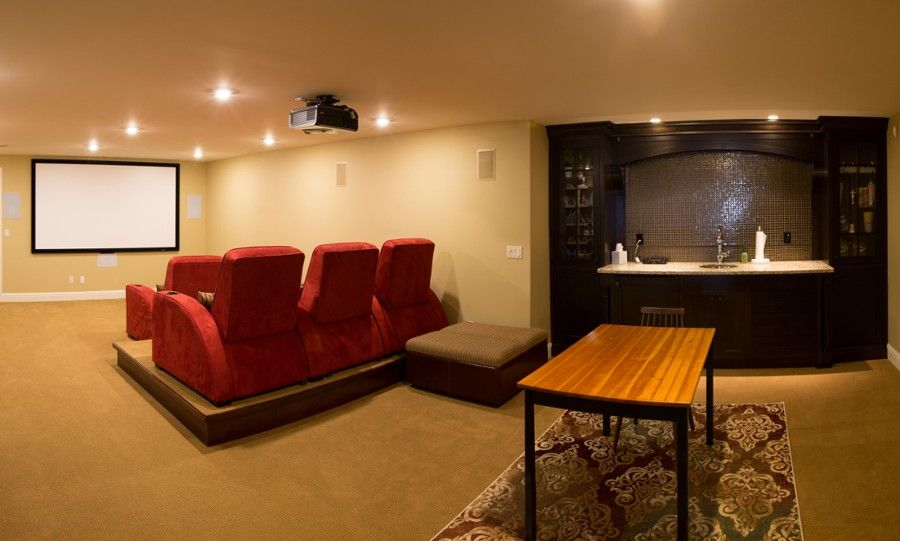 Small Media Room