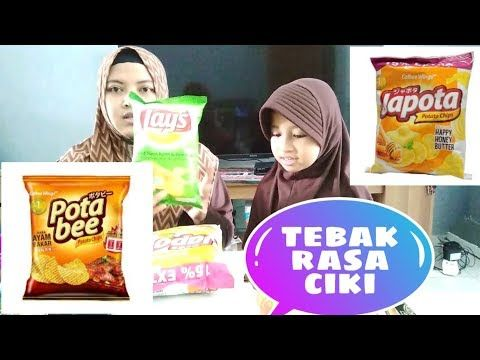 Challenge Tebak Rasa Ciki Lays Potabee Japota Youtube Ayam