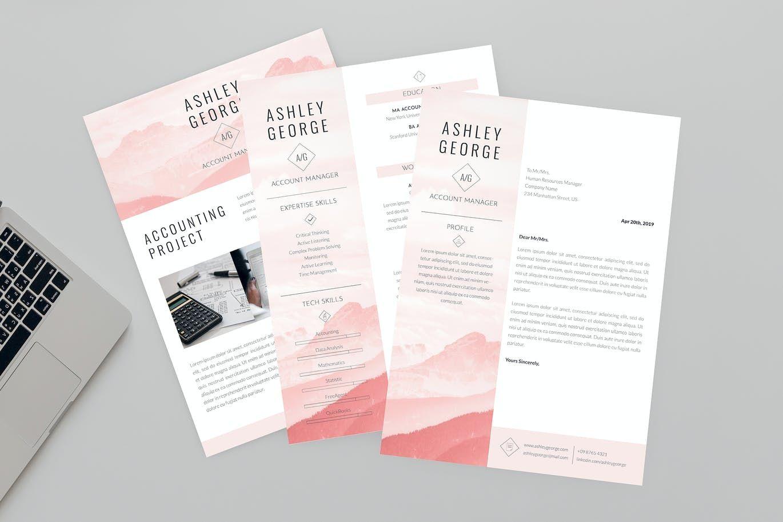 Quiet cv resume designer by aqrstudio on envato elements