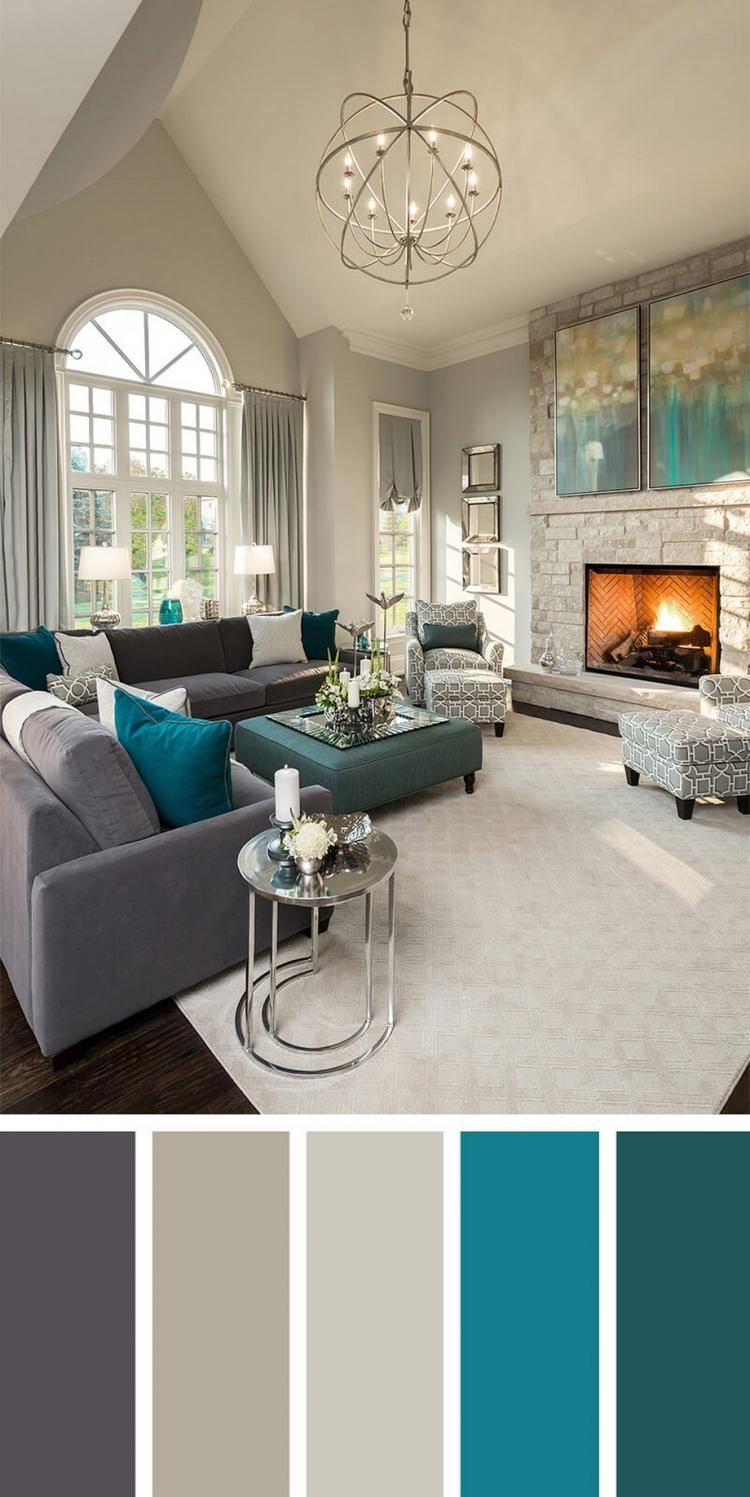 Turquoise Accents For Living Room Furniture Ideas Sectional 75 Best To Decorate Your With