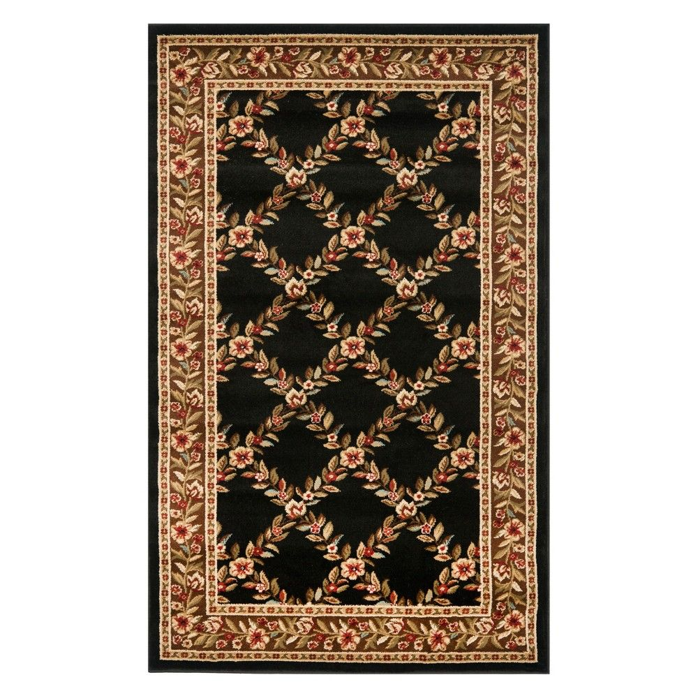 2 2 X8 Floral Loomed Runner Green Safavieh Size 2 2 X8