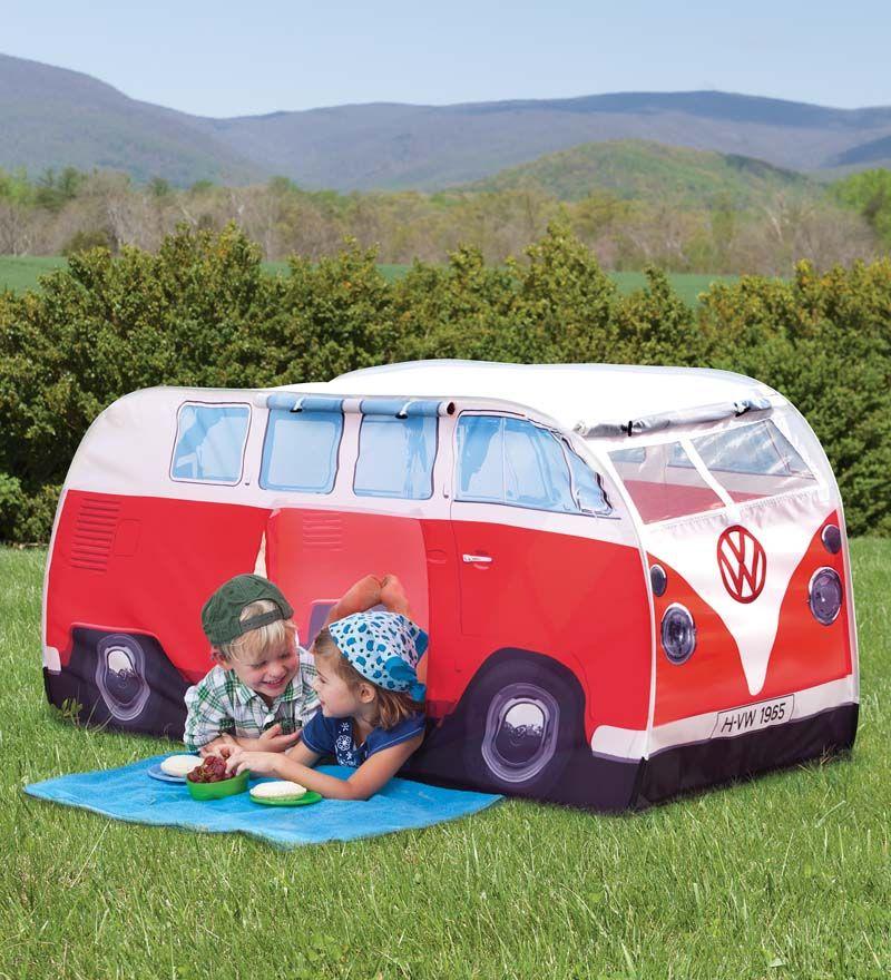 wholesale dealer f0129 65669 For both: Kids' Pop-Up VW Camper Van Tent | 2015 Wish Lists ...