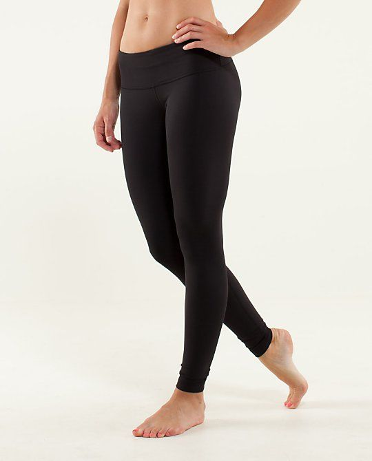 44e4683f3a066 Wunder Under Pant*IPLUX - Black leggings in the tight weave fabric -  Brushed - Black - Size 6 *would like these to be a little thicker so that  they can be ...