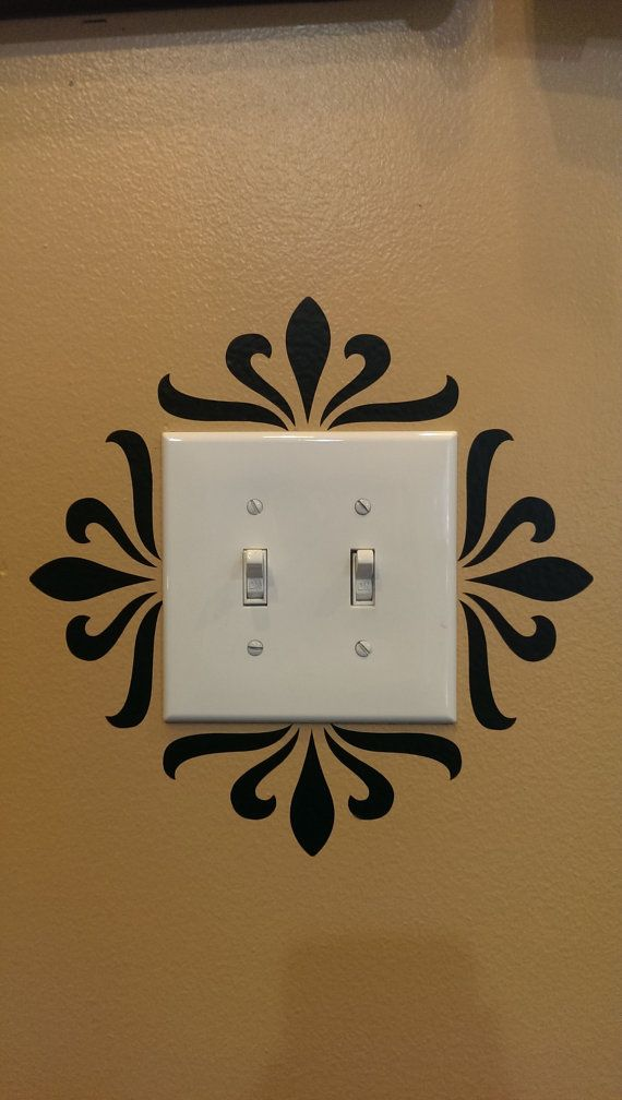 Decorative Light Switch Decal In 2018 Home Sweet Home Pinterest - Vinyl-decals-to-decorate-light-switches-and-outlets