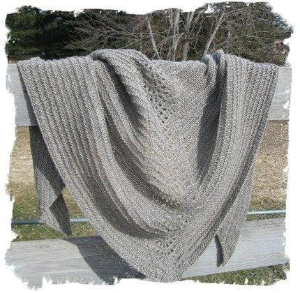 Lace Shawl Pattern Easy Lace Knitting Pattern Beginner Knitting