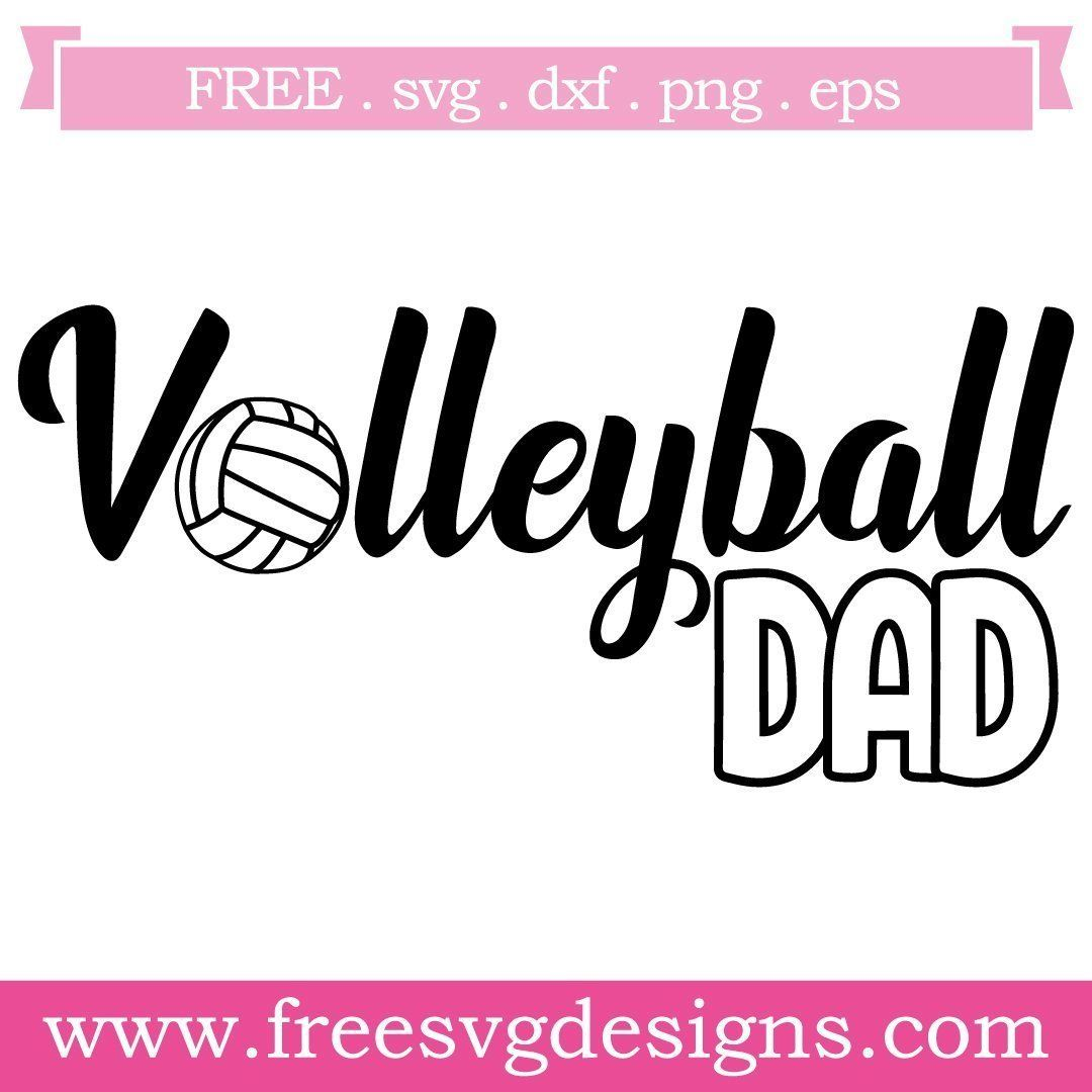 Free Volleyball Svg Files At Www Freesvgdesigns Com Our Free Downloads Includes Otf Ttf Svg Png And Dxf Files For Personal Cutt Free Svg Svg Svg Free Files